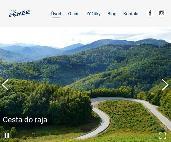 VisitGemer.sk GatsbyJs Web
